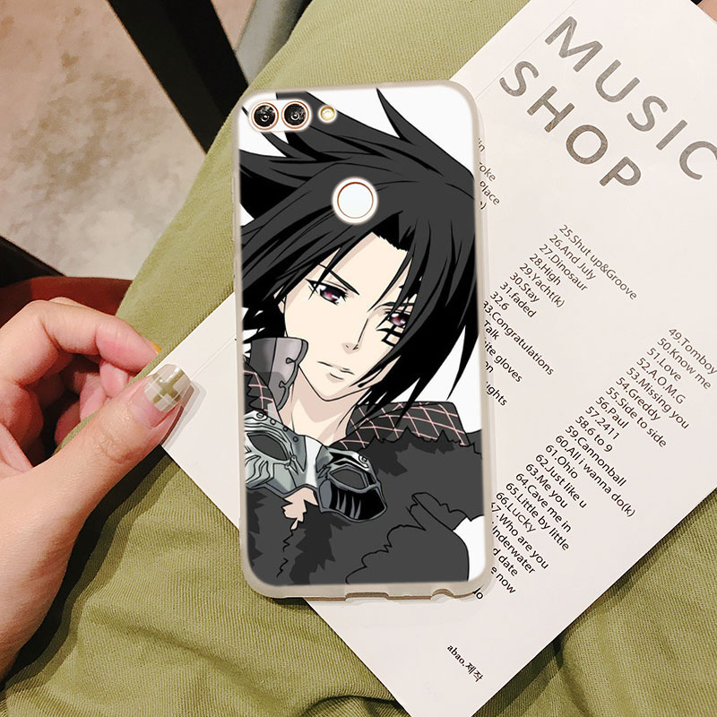 Silicone Case D Gray man Allen for Huawei Nova 3 4 Honor 7C 7A 8 8X 9 10 Y5 Y6 Y7 Y9 V20 Lite Pro 2019 2018 Cover in Fitted Cases from Cellphones Telecommunications