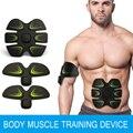 EMS Músculos Abdominal Hogar Dispositivo de Entrenamiento de Los Músculos Del Brazo Entrenamiento Intensivo Eléctrica Masajeador de Pérdida de Peso Que Adelgaza
