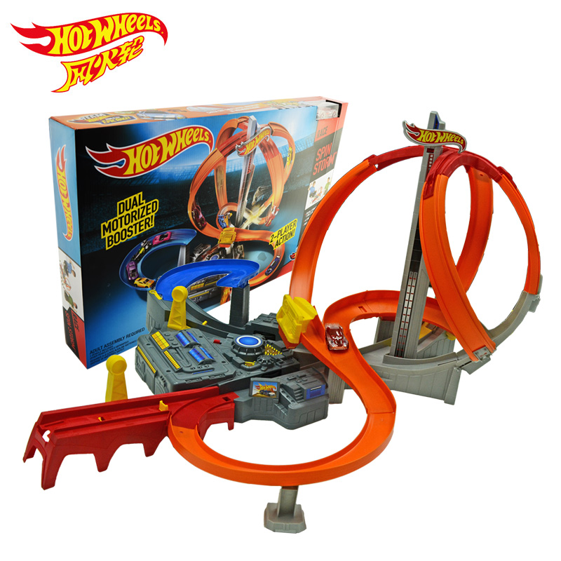 Electric Toys For Boys : New arrival hotwheels electric extremely fast cyclotron