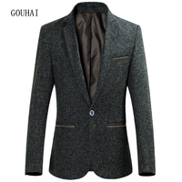 Suit Men Blazer Jackets Men 2017 Fashion Jacket Mens Solid Slim Fit Casual Blazer Male Single