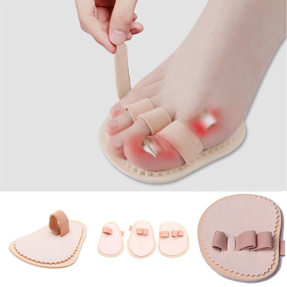 Professional 3 Toes Foot Bunion Separator Straightener Hallux Valgus  For Bunion Pain