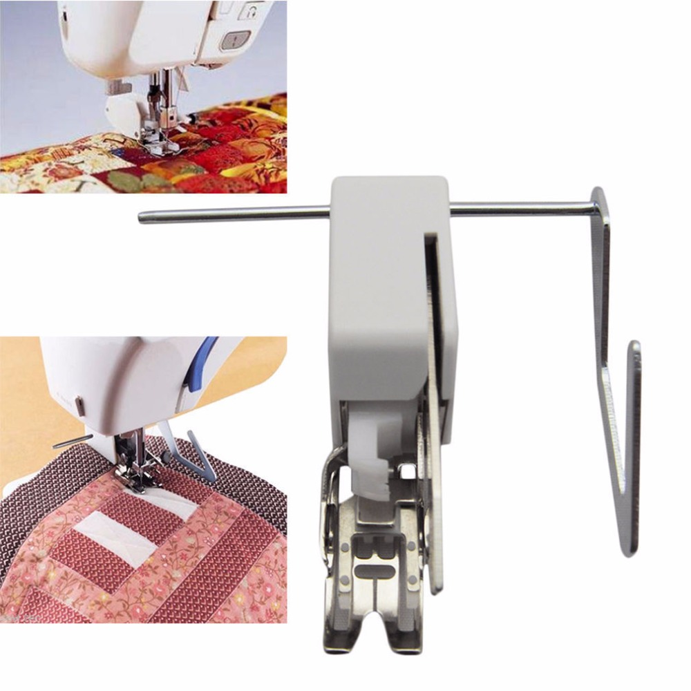 Pies de prensatelas de alimentación uniforme para caminar para máquina de coser de vástago bajo para manualidades costura ropa costura tela