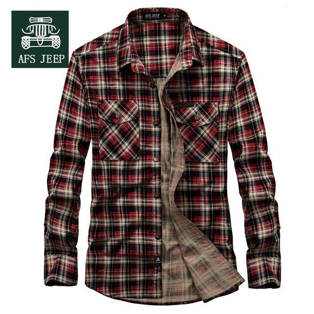 Nueva Llegada de algodón a cuadros de Los Hombres camisa casual de negocios camisa de los hombres