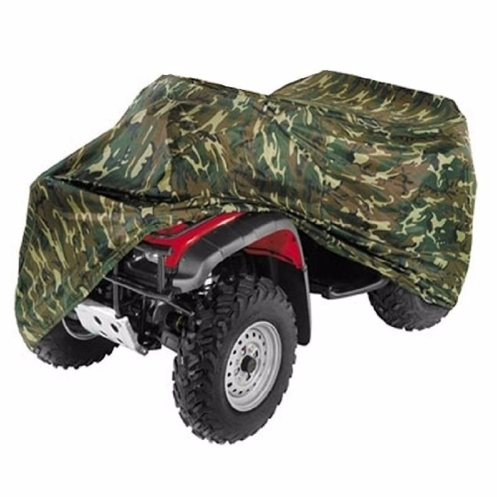 OHANEE All Size Motorcycle Cover Camouflage ATV Cover Vehicle Beach Motos Case Waterproof Scooter Motorbike Cover Protector