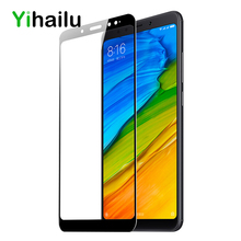 ФОТО for xiaomi redmi note 5 tempered glass full cover 2.5d screen protector for redmi note 5 pro phone glass film for xaomi note5