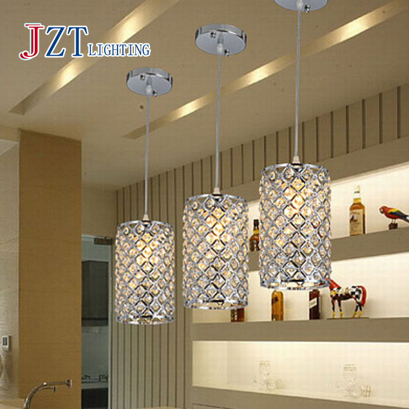 Z Best price Crystal Pendant Lights Home Lighting Living Room Single Head Lamp Bar Pendant Lamp Siver Corridor Crystal Lamp best price 5pin cable for outdoor printer