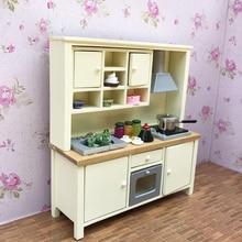 G07-X149 детская игрушка в подарок 1:12 кукольный домик мини мебель миниатюрная кукла аксессуары один шкаф Прилавок 1 шт