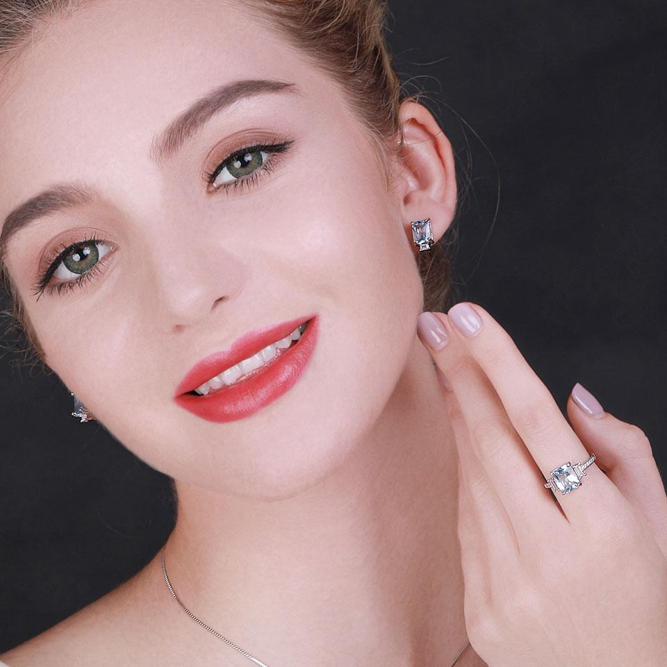 HTB1nb.ZXzzuK1Rjy0Fpq6yEpFXaa UMCHO Blue Topaz Gemstone Rings for Women Genuine 925 Sterling Silver Aquamarine Ring Romantic Wedding Engagement Fine Jewelry