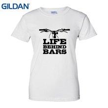 Vida detrás de las barras ciclismo camiseta imprimir en una camiseta diseño  de su camiseta mujer verano estilo 2018 nuevas mujer. ab0412bdc0a