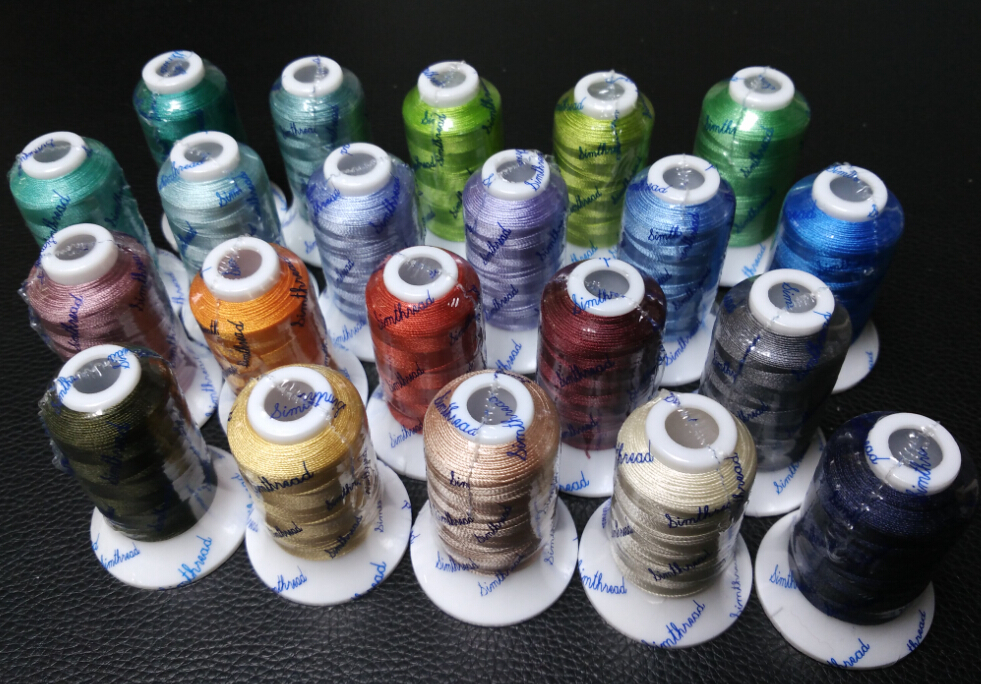 High Quality 21 Popular Similar Gunold Colors Embroidery Machine Thread 500m Each Ideal For Multi-function Machines