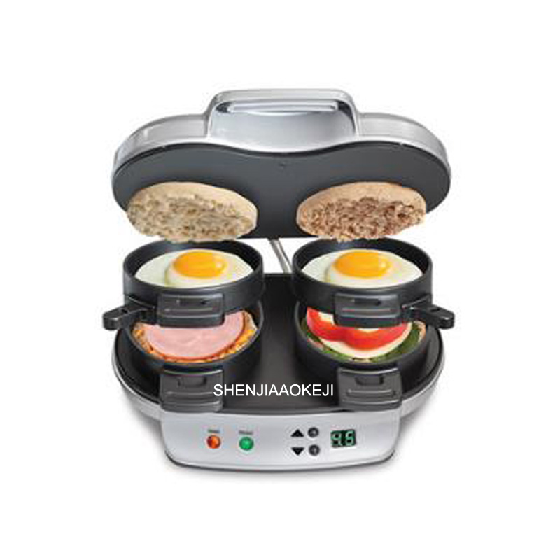 DIY Home use Hamburg machine Multifunction Electric baking pan sandwich machine Double tray breakfast machine 220V 1PC münchner philharmoniker elbphilharmonie hamburg