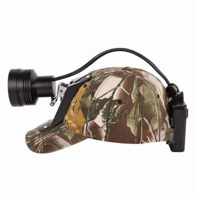 Светодиодный головной фонарь Kohree с аккумулятором 18650, Cree, перезаряжаемый Головной фонарь с зумом, светильник онарь для хищников, свиней, охоты, кемпинга + мягкая крышка