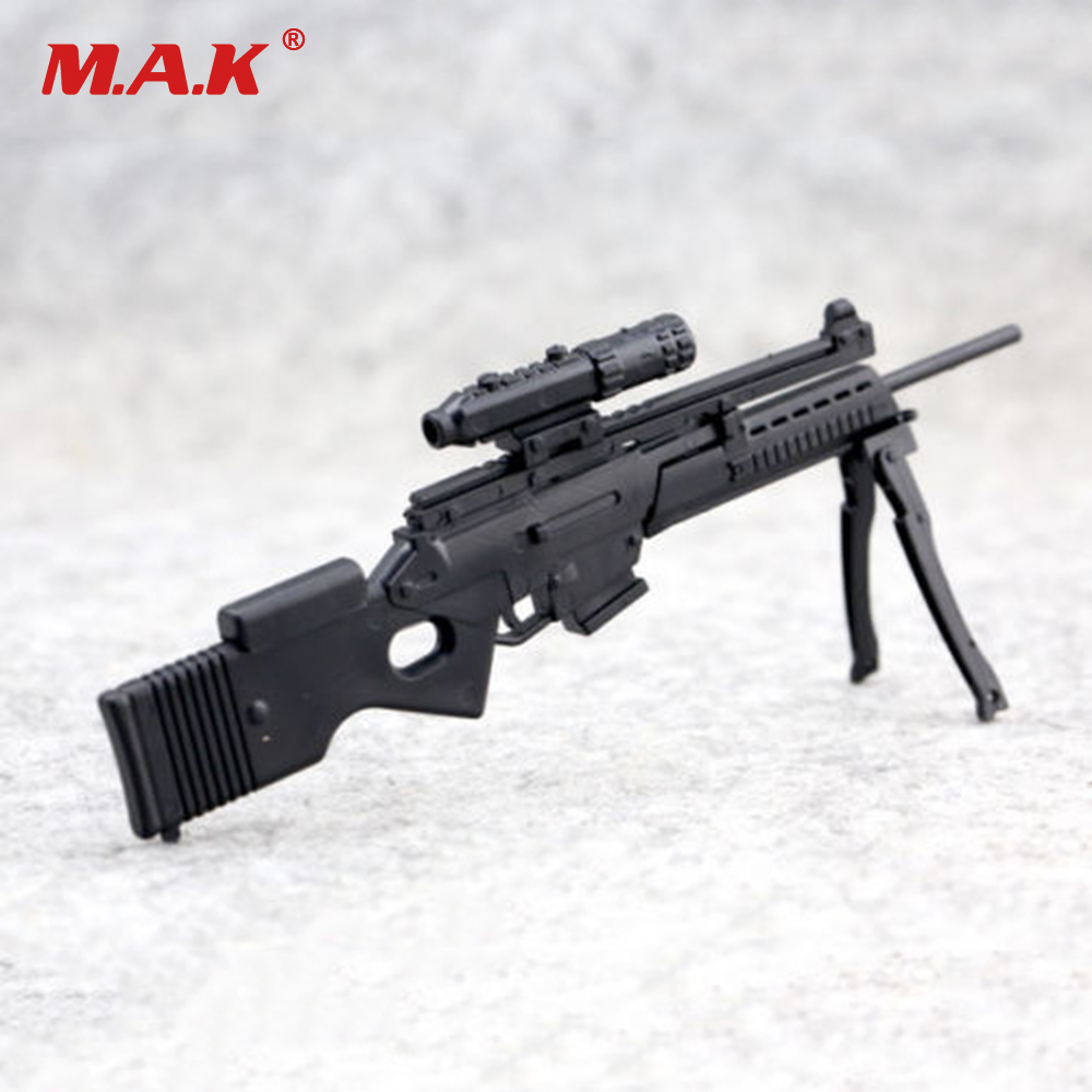 "4D assembled 1:6th Weapon Model SL8 Sniper Rifle Gun Model For 12/"" Figure"
