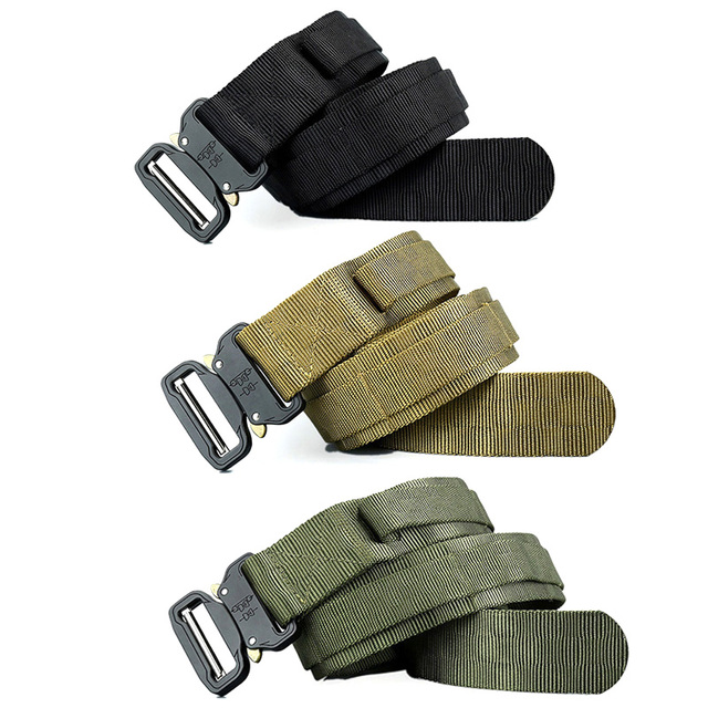New Style Military Tactical Belt Nylon Molle Belt outdoor sport waist Belt for Hunting Camping Hiking