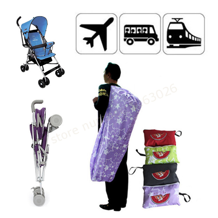 Baby stroller storage bag child car baby umbrella car storage bag traveling bag dustproof backpacks suspenders
