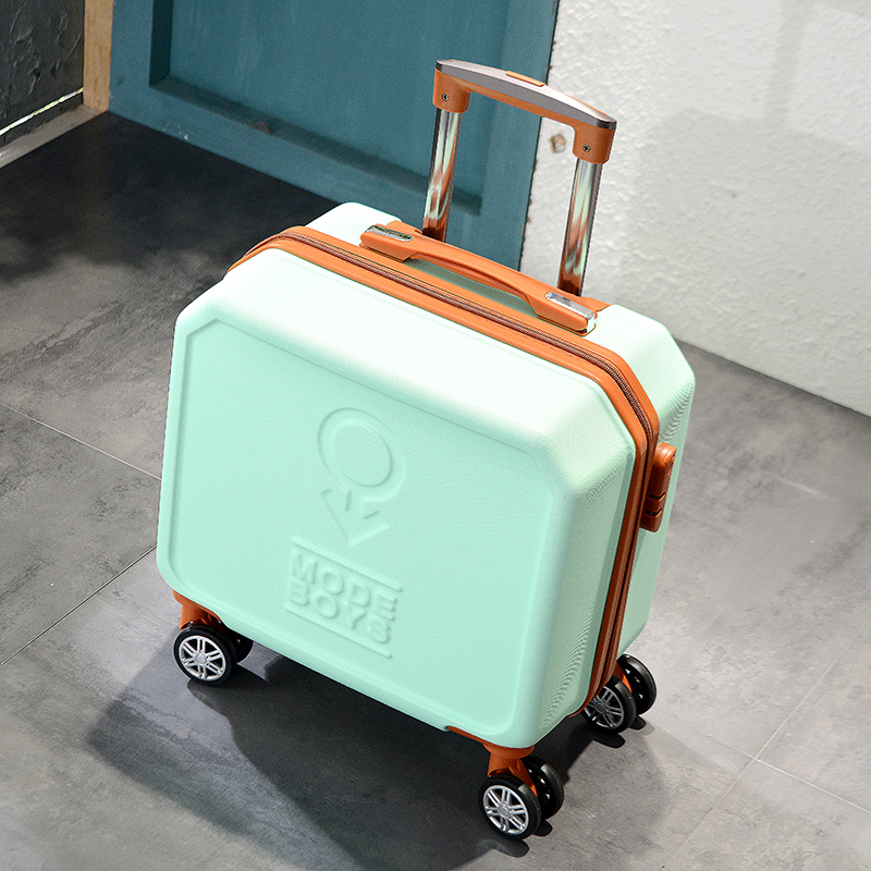 Color : Black, Size : 20 inches CLOUD Luggage Sets Travel Suitcase Male and Female Lightweight ABS Aluminum Frame Portable Consignment Suitcase Trolley Case Lock 4 Wheels