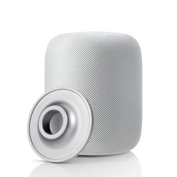 Stand Holder for Apple HomePod Stainless Steel Protective Pad Base Coaster for Apple HomePod Smart Speaker Accessories фото