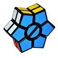 Nueva Llegada 2-capas Hexagonal Estrella de David En Forma de Cubo Mágico Cubo Mágico Puzzle Cube Velocidad de Giro Juguete Educativo Juego de Regalo 48