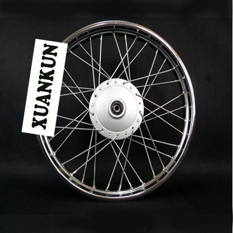 XUANKUN Motorcycle Parts Refitted Widened Hub Rear Wheel Hub 185-17/ Front Wheel 16-17 motorcycle parts front