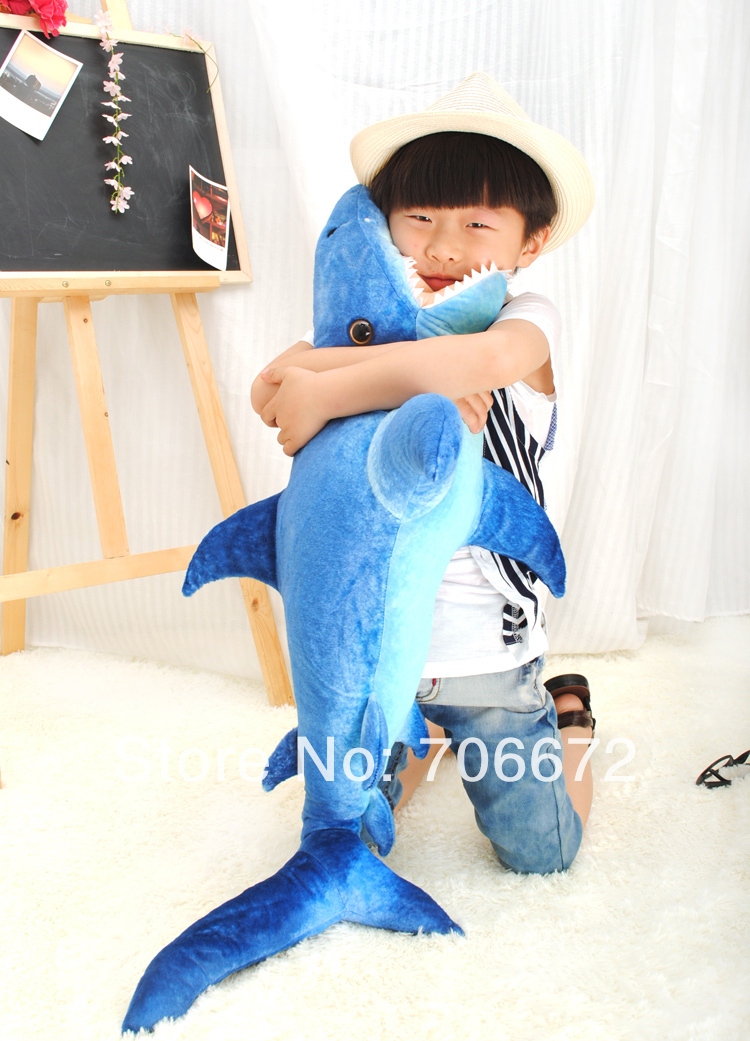 about 95cm blue whale plush toy doll  throw pillow high quality goods children gift  t5848 stuffed animal prone dog plush toy about 85 cm soft doll throw pillow t7790