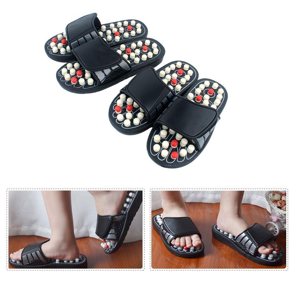 Massage Slipper Acupressure Reflexology Massage Slippers Woman Massage Reflexology Foot Massage Slippers Foot Massage Shoes in Slippers from Shoes
