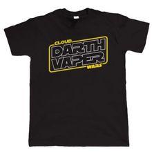 Darth Vaper , Maglietta Divertente da Uomo - E-Cig Rda RTA E-Succo Vaporizzatore Harajuku Tops t shirt Fashion Classic Unique