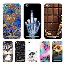"""Bolsas de teléfono para Xiomi Xiaomi Redmi 5 A 5A A5, Funda, varios animales, Gato oscuro, carcasa de silicona, Funda para Redmi 5A, Redmi5A 5"""""""