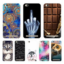 "Phone Bags For Xiomi Xiaomi Redmi 5 A 5A A5 Case Cover Various Animal Cat Dark Silicone Case Coque For Redmi 5A Funda Redmi5A 5"""