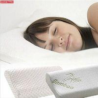 Gadgetpro High Quality Bamboo Fiber Pillow Slow Rebound Memory Foam Pillow Health Care Memory Foam Pillow