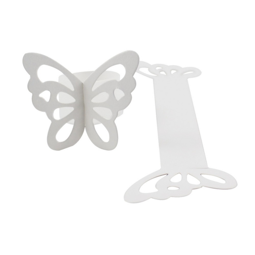 Nº200pieces Butterfly Paper Napkin Rings for Wedding Party ...
