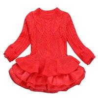 MUQGEW 2017 Hot Sale Newborn Baby Girls Clothes Kids Girls New Knitted Sweater Winter Pullovers Crochet