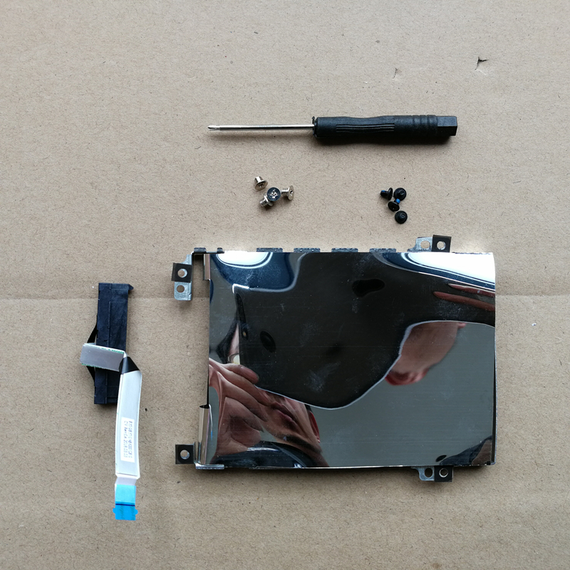 New Hard Drive holder Bracket + Hard Drive HDD Connector Cable+screws For <font><b>Lenovo</b></font> IdeaPad <font><b>Y700</b></font> <font><b>Y700</b></font>-15 <font><b>Y700</b></font>-15ACZ <font><b>Y700</b></font>-17 image