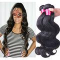 Queen hair products 7A unprocessed  Queen hair brazilian body wave 4 bundles Cheap100% human hair weave queen hair store