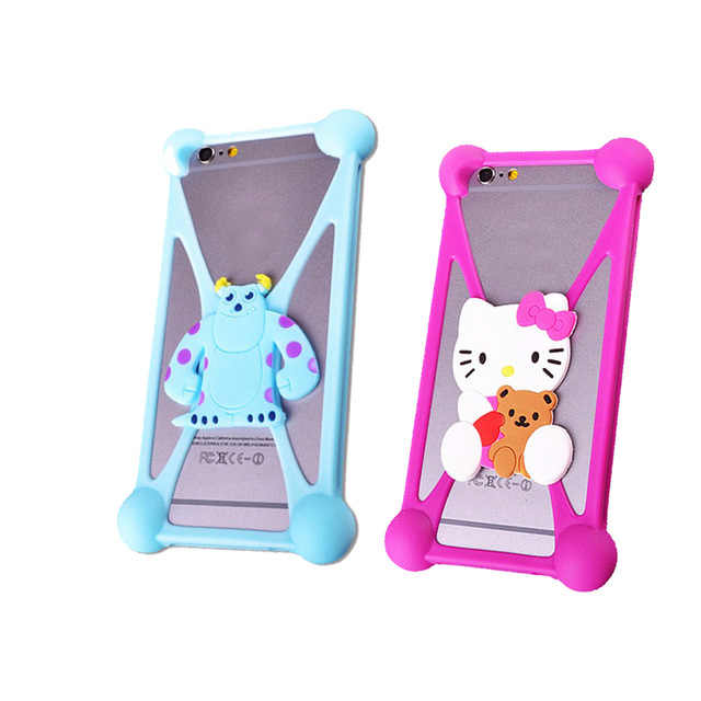 Super Cute Doraemon Hello Kitty Batman Minnie Minion Case Penutup untuk Dexp AS160 B140 B145 B350 BS150 G150 G155 G250 GL255