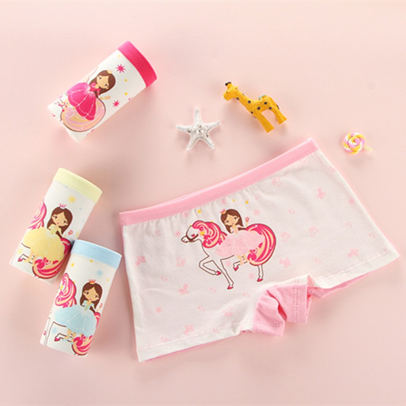 5pcs /lot 2019 New Girl Briefs Kids Girls Underwear Children Underwear Girls Pant Childrens Pants Wholesale Mother & Kids