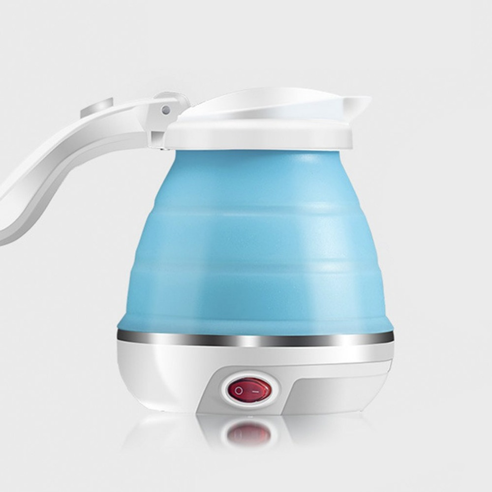 0.5L Electric Kettle Silicone Foldable 680W Portable for Travel Camping Water Boiler Home Electric Appliances