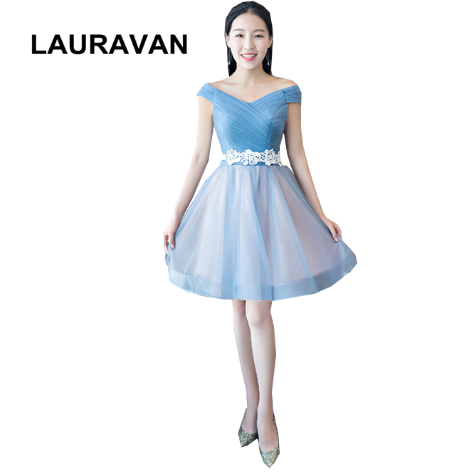 8af777b889d short cute tulle lace off shoulder boat neck top teenage elegant prom  dresses for teens with