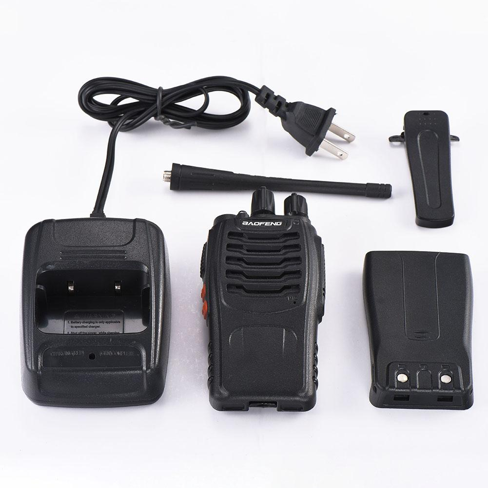 New Portable Handheld BF-888S 400-470MHz Two-way Wireless FM Antenna Walkie-talkie