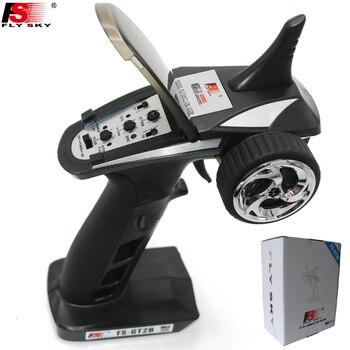 Flysky FS-GT2B 2,4G 3CH AFHDS modelo de Radio Control remoto transmisor con el receptor para coche RC barco
