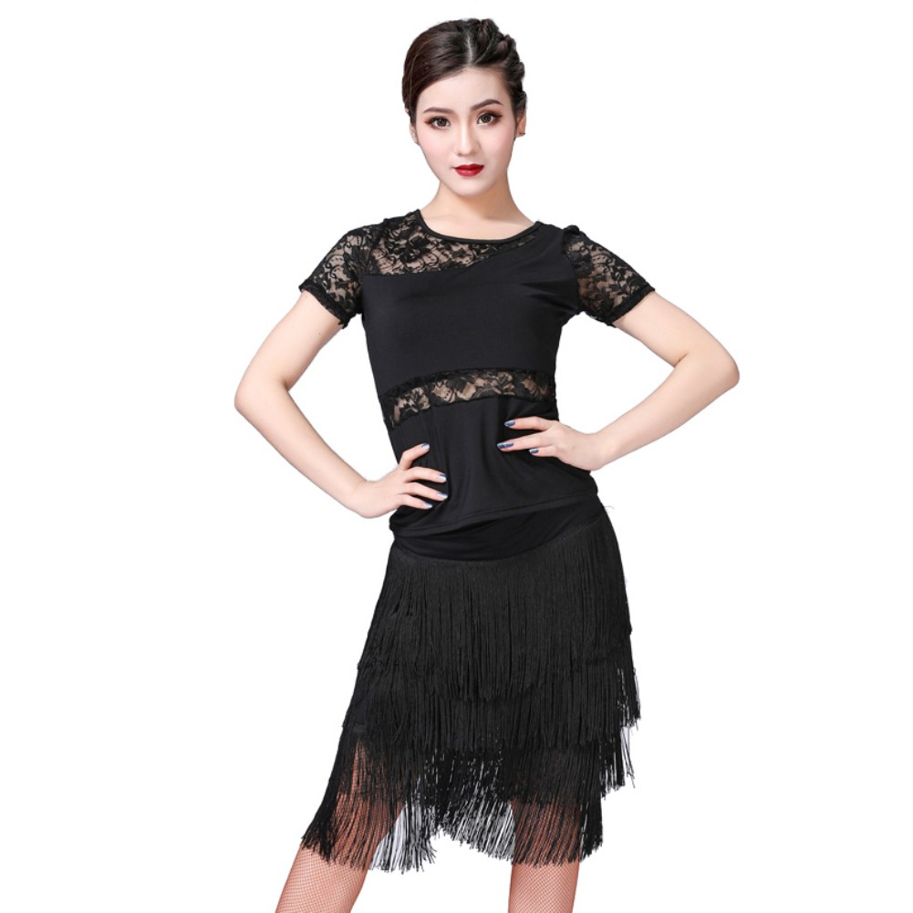 High Quality Latin Dance Dress Women/Girls/Lady New Sexy Fringe Salsa/Ballroom/Tango/Cha Cha/Samba/Latin Dresses For Dancing