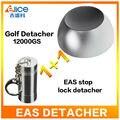 (Grátis para EUA) Ímã Super Golf Detacheur EAS Sistema 12000GS Removedor Tag Para Supermercado loja de Roupas + 1 PC parar bloqueio detacheur