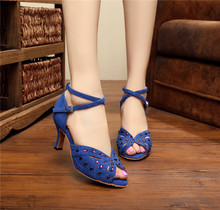 Quality New Cheap Woman Latin Salsa Dance Shoes Ladies Shoes
