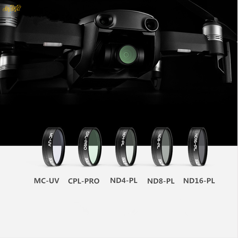 Mavic aire drone PL ajustar la densidad neutral filtros UV CPL nd ND4 ND8 ND16 filtro CPL HD para DJI Mavic aire drone Accesorios