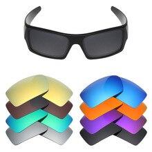Lentes de substituição polarizadas mryok para lentes de óculos de sol oakley gascan (lente somente) várias opções