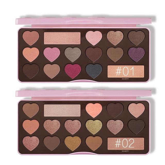 Eyeshadow Pallete Matte Naked Sweet Peach Chocolate Bar Eye Shadow