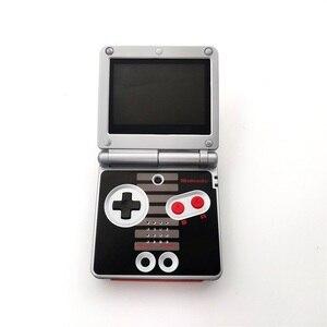 Image 5 - مجددة ل GameBoy مقدما SP ل GBA SP وحدة التحكم AGS 101 الخلفية الخلفية الشاشة NES الطبعة وحدة التحكم