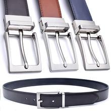 Handmade Formal Reversible Buckle Leather Belt