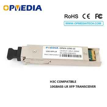 цена Low price!!Equivalent to H3C 10G 1310nm 10KM XFP transceiver,10G LR XFP optical module,LC connector,DDM function optical module онлайн в 2017 году