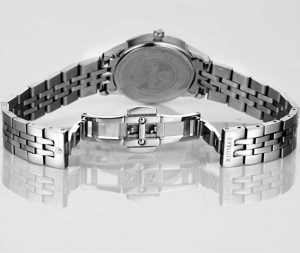 Wielka wyprzedaż RUIMAS Moda Zegarek Kwarcowy Kobiety Zegarki - Zegarki damskie - Zdjęcie 3