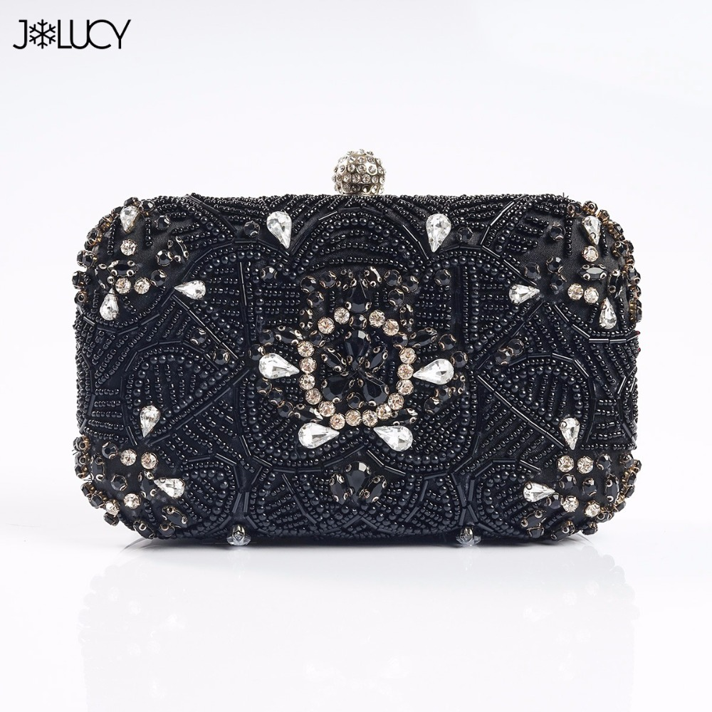 2017 New Brand Design Fashion Luxury Hand Sewing Flowers Diamonds Women's Chains Shoulder Bag Girls Ladies Evening Clutch Bags fashion womens design chain detail cross body bag ladies shoulder bag clutch bag bolsa franja luxury evening bag lb148